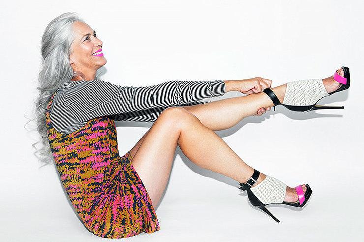 Как бесполезно пытаться маскировать возраст одеждой