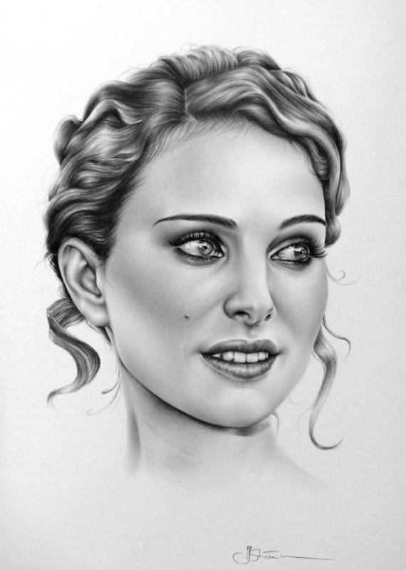 Реалистичные рисунки Илеаны Хантер
