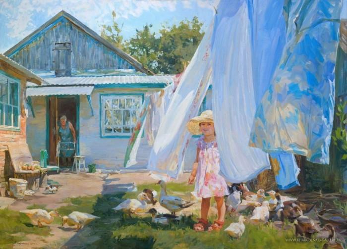 Российский художник.Victoria Kharchenko