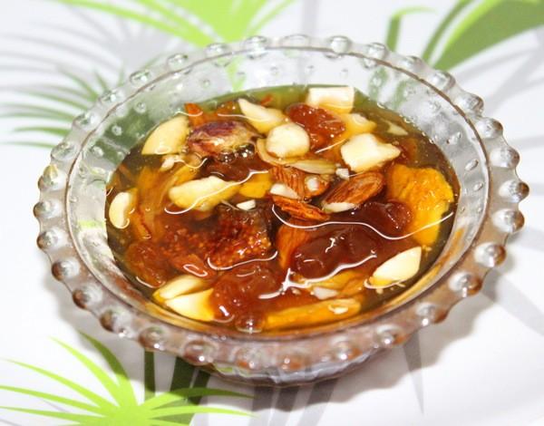 Витаминная смесь с медом орехами сухофруктами рецепт для повышения иммунитета
