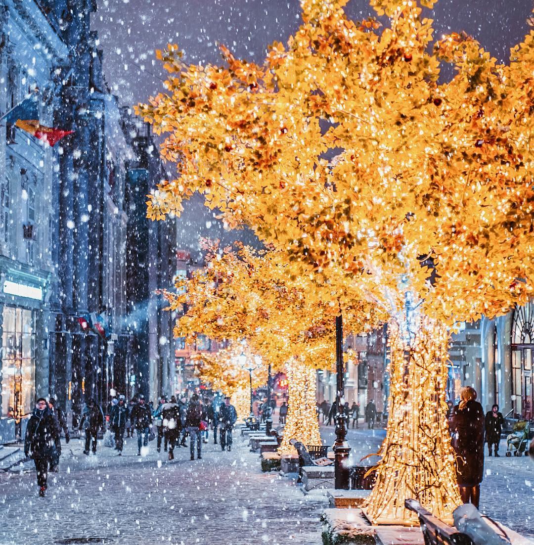 20 волшебных фотографий зимней Москвы
