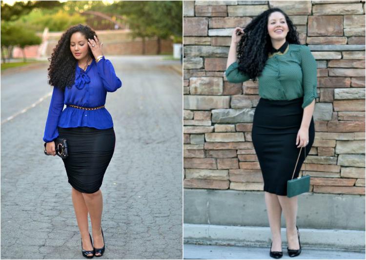 Самые удачные наряды для полных женщин: как выглядеть стройнее, моложе, изысканней!