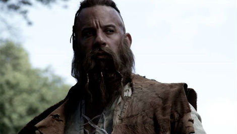 Vin Diesel shows off his new look in The Last Witch Hunter