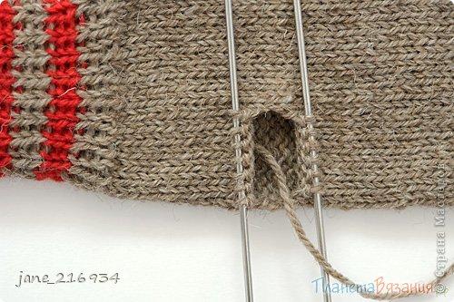 Вязание спицами варежки видео