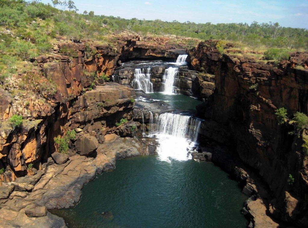 Водопад Митчелл, Австралия