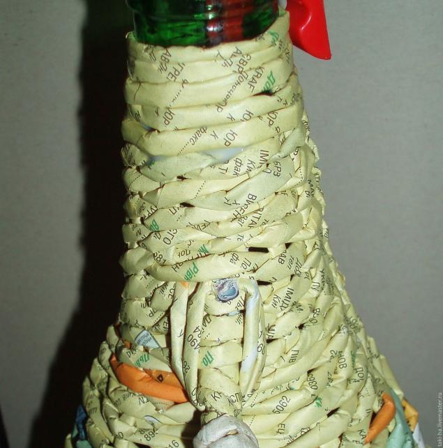 Оплетенный бутыль