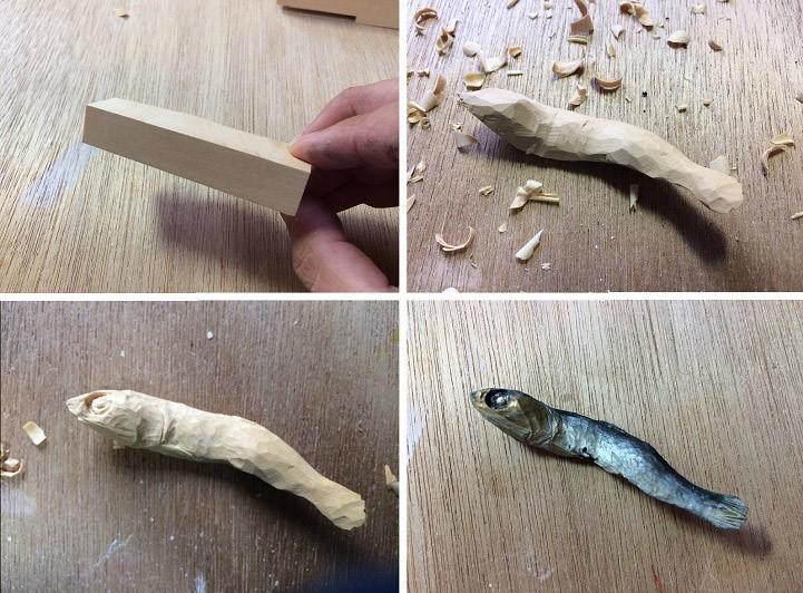 Деревянная еда