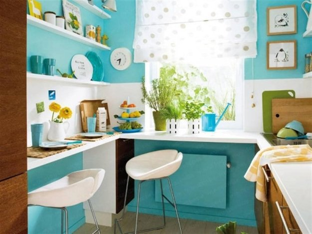 Как организовать обеденную зону на «просторах» хрущевки — 10 симпатичных идей