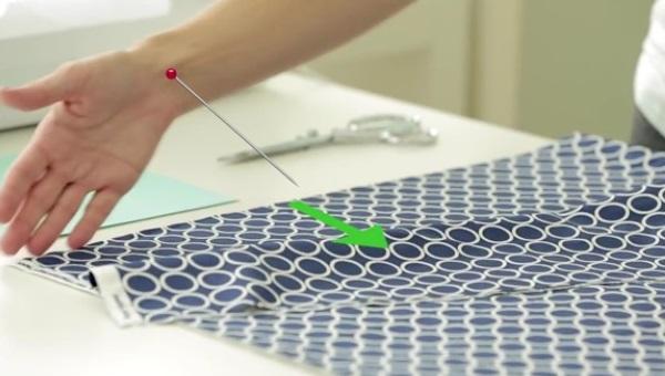 пошив ткани