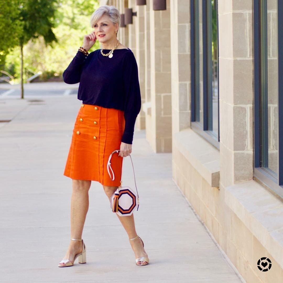 Фасоны юбок, которые красиво смотрятся на женщинах средних лет