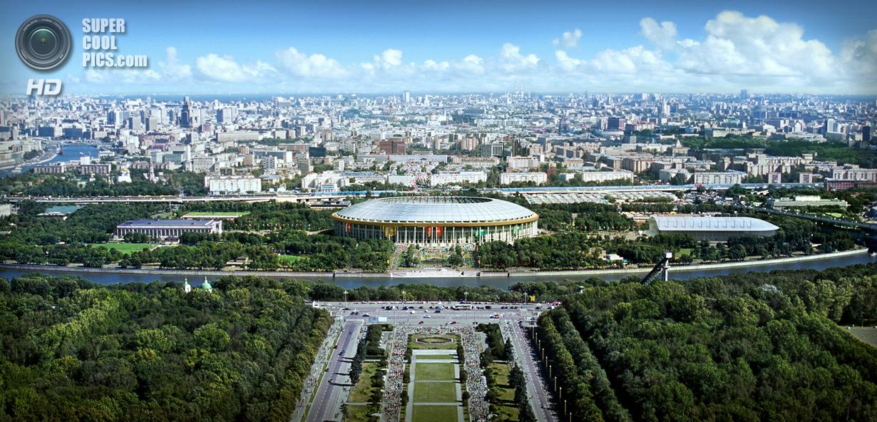 Россия. Москва. Футбольный стадион «Лужники». (Getty Images)