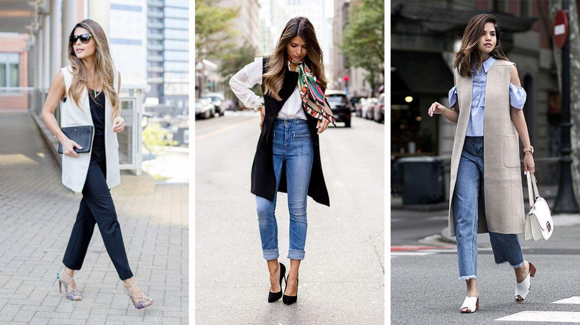 Как стилизовать жилетки в свой весенний гардероб: 5 стильных вариантов