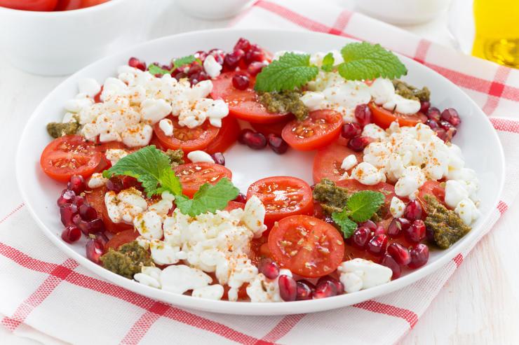 Итальянский весенний салатик
