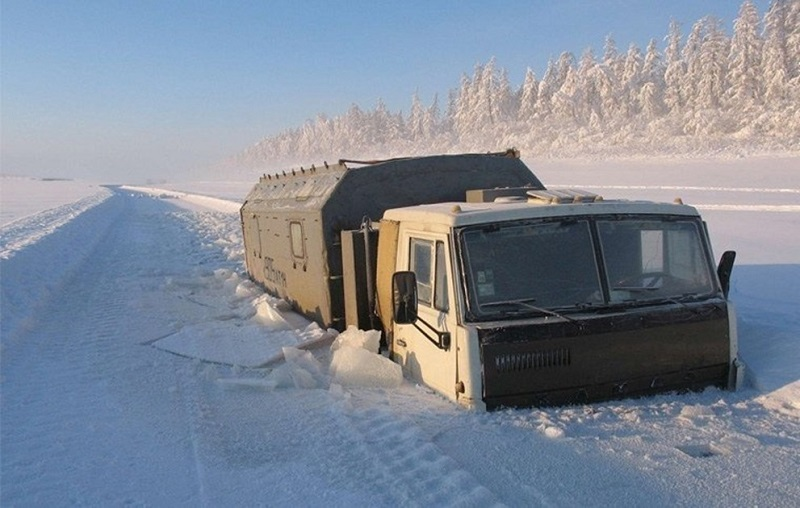 Добро пожаловать в самое холодное место на земле, где температура может упасть до –71°С!