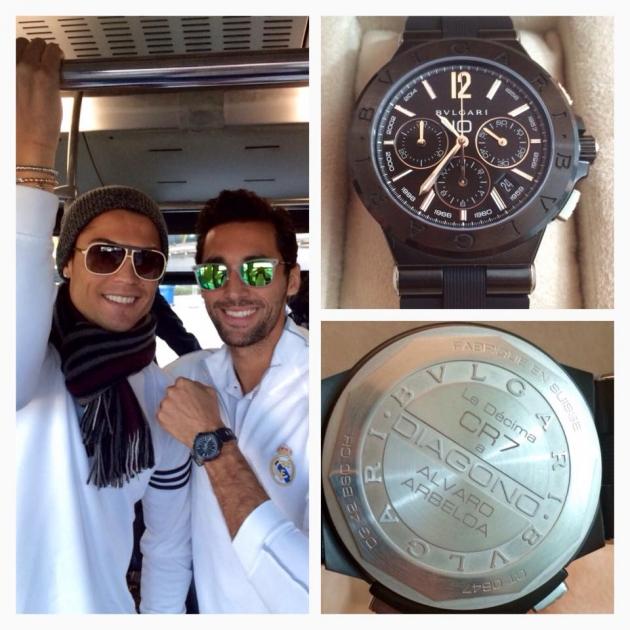 """Роналду подарил каждому игроку """"Реала"""" часы стоимостью €8000"""