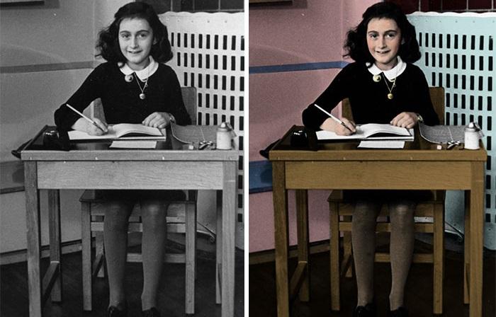 Фотограф восстанавливает в цвете фотографии об преступлениях Холокоста, чтобы напомнить молодёжи, что нацизм – это страшно