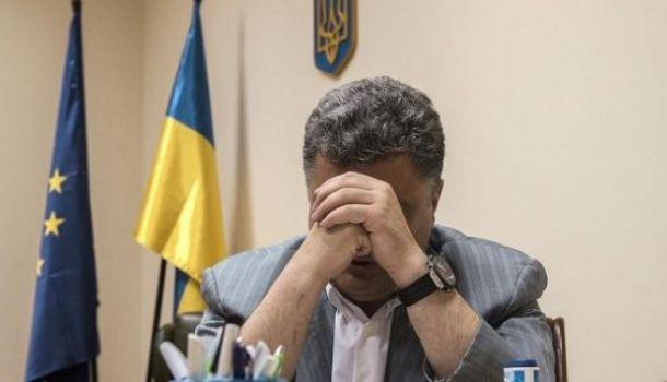 Порошенко отказался от борьбы и пакует чемоданы