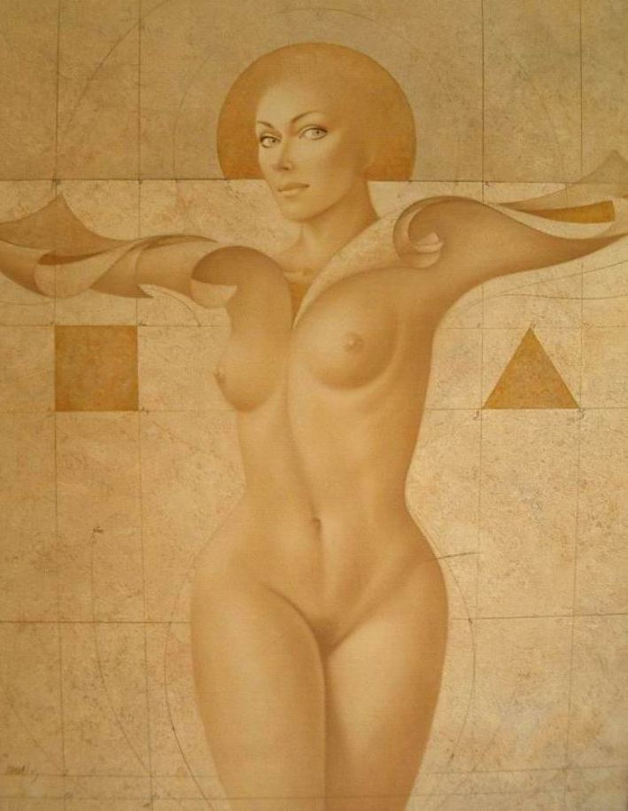 Красота обнаженного человеческого тела в картинах Gerard Daran