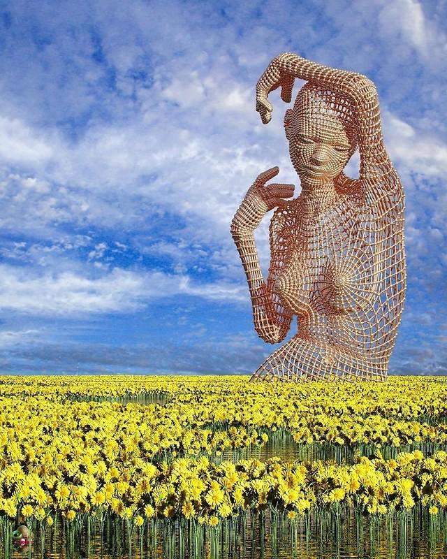 Футуристические 3D-скульптуры от Чада Найта