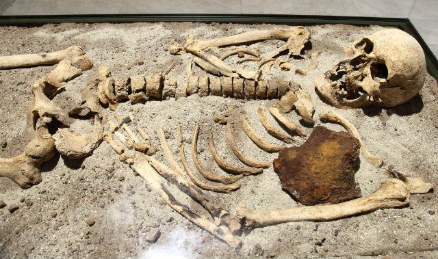 Археологи нашли антивампирское захоронение