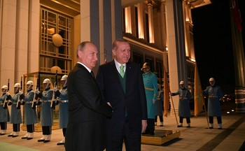 Путин за день встретился с президентами Сирии, Египта и Турции