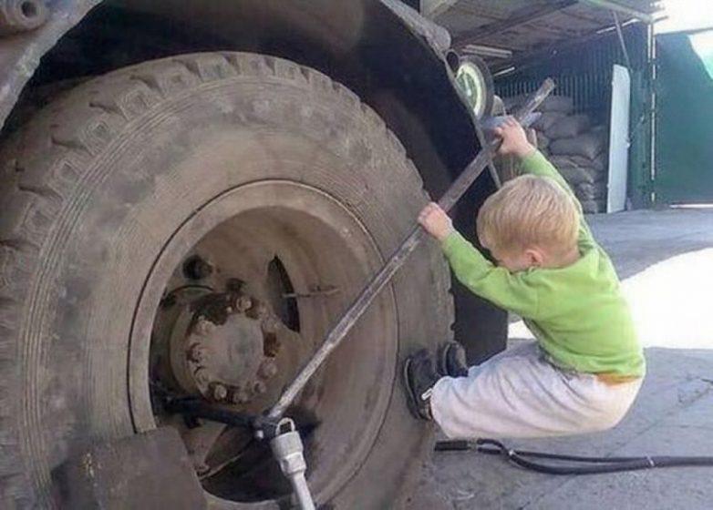 Самостоятельности этих детей можно только позавидовать!