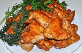 Куриные крылышки под острым маринадом – пошаговый фоторецепт