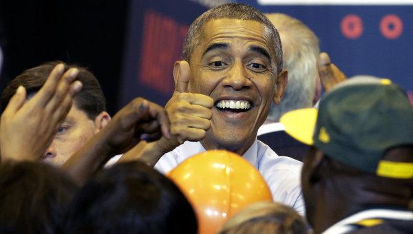 """Обама предпочел бы, чтобы его называли """"жало"""" вместо POTUS"""