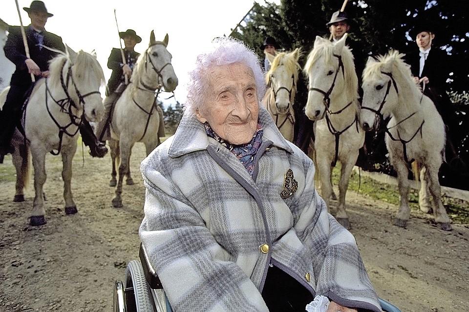 Жак Ширак называл Жанну Кальман бабушкой каждого француза. ФОТО: Sygma  Getty Images