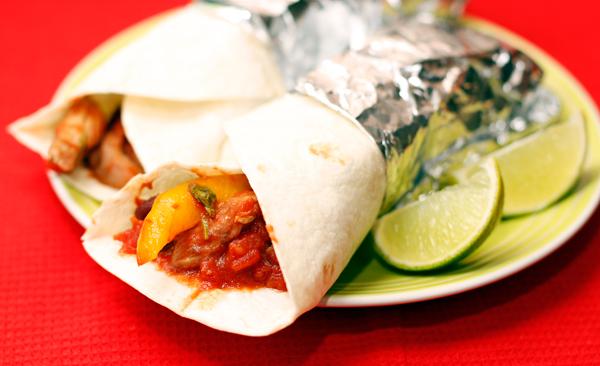 Буррито - простое и вкусное блюдо мексиканской кухни
