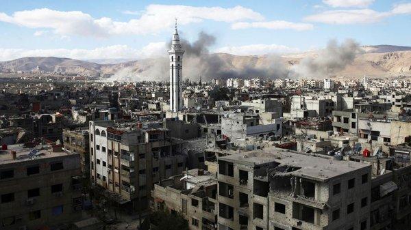 Восточная Гута, Сирия