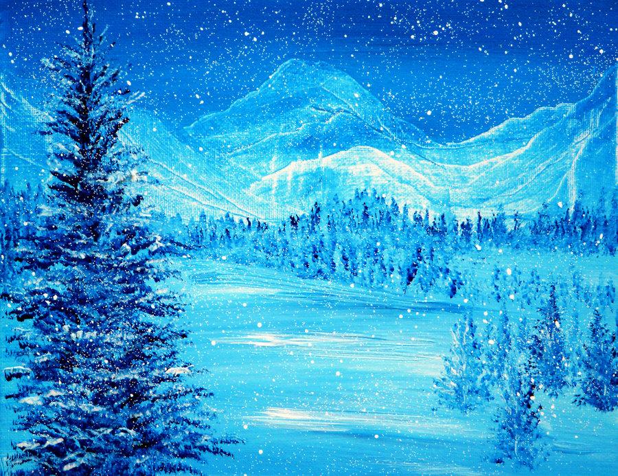 blue_winter_by_annmariebone-d5nx62c