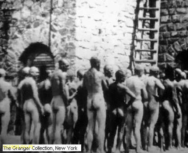Фото людей в концлагере дахау голых женщин 7417 фотография