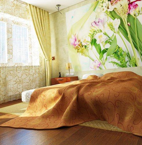 10 вариантов  для маленькой спальни