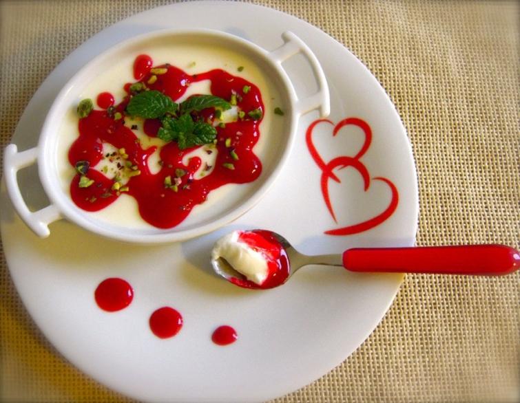 Панна котта  Блюда итальянской кухни блюда Италии