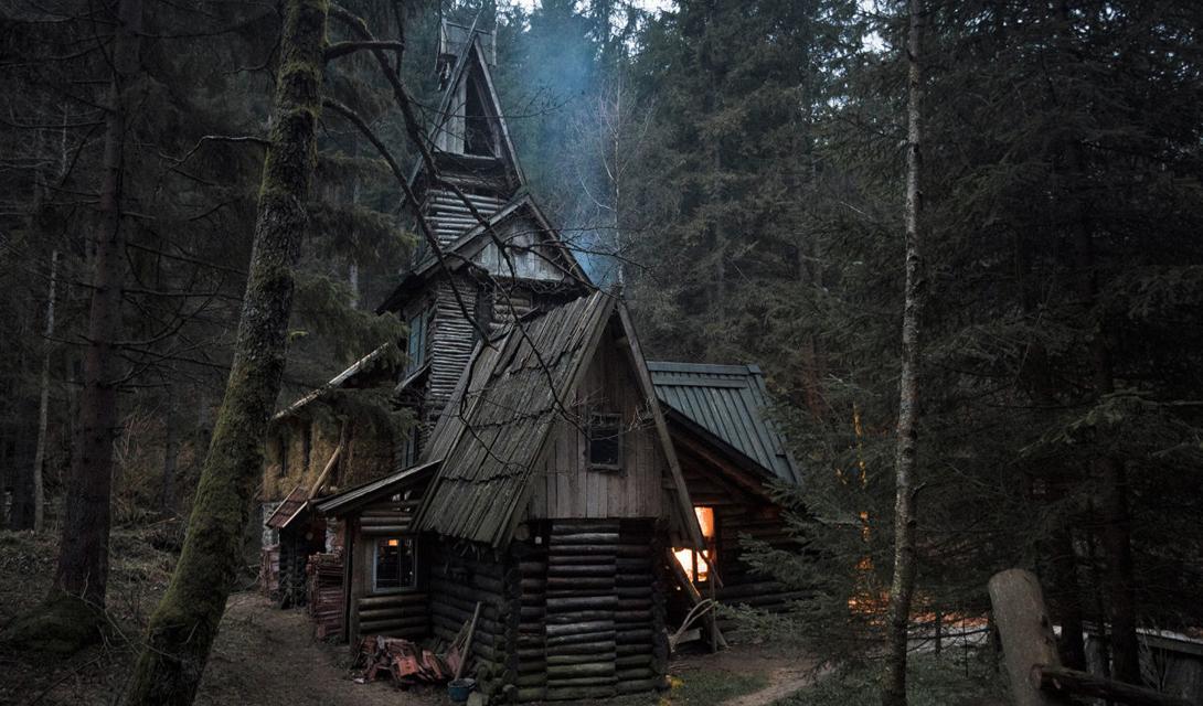 Сказочные уединенные дома