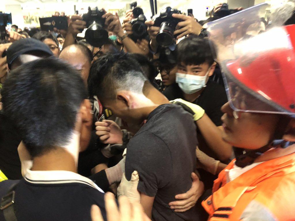 О протестах в Гонконге