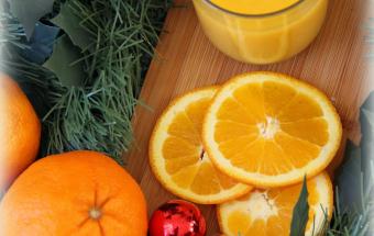 Апельсиновый заварной крем