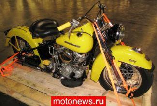 В США нашли мотоцикл, украденный 42 года назад