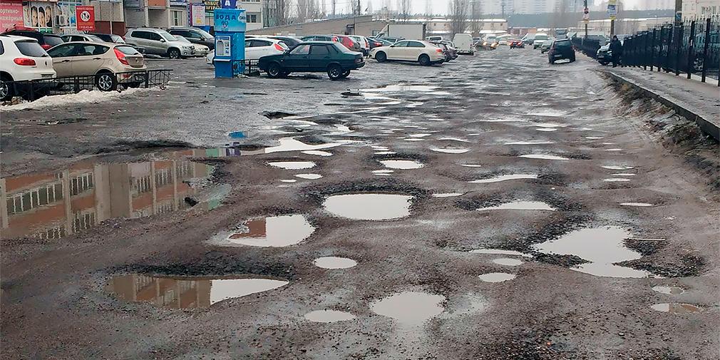 И ремонты не помогли: на плохие дороги жалуются втрое больше