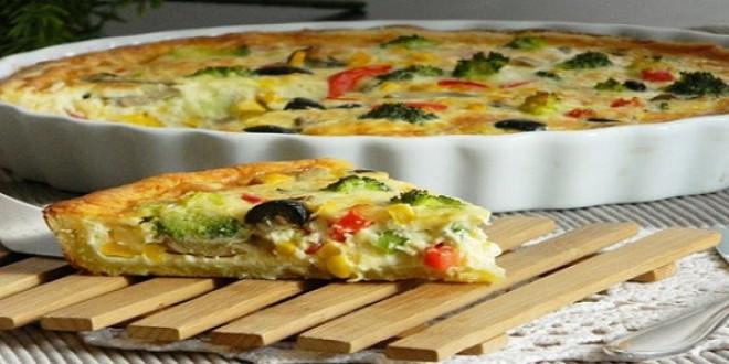 Быстрый мясной пирог с овощами -Этот пирог даже вкуснее пиццы! Попробуйте оторваться невозможно