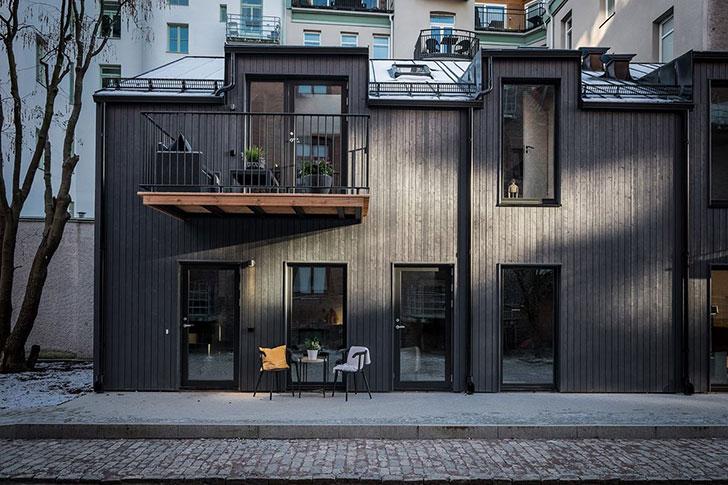 Современная квартира с нотками экзотики (71 кв. м)
