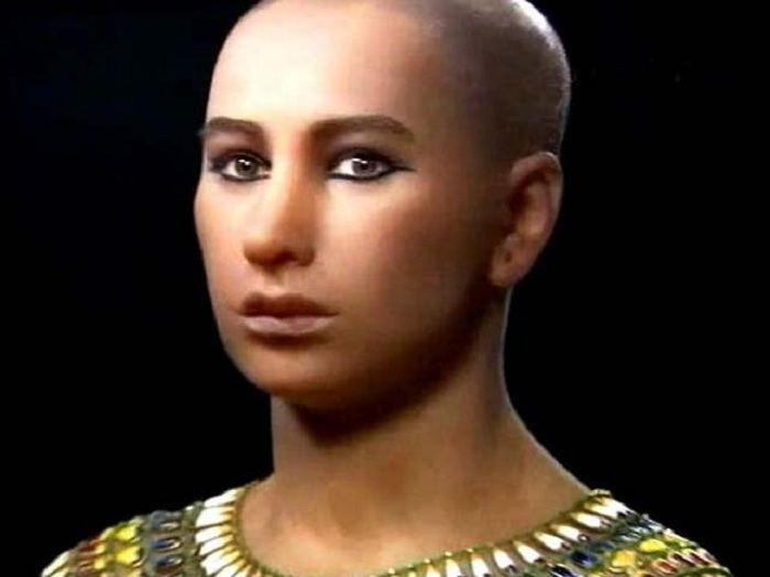 Тутанхамон. Реконструкция образа. | Фото: tainoe.info.