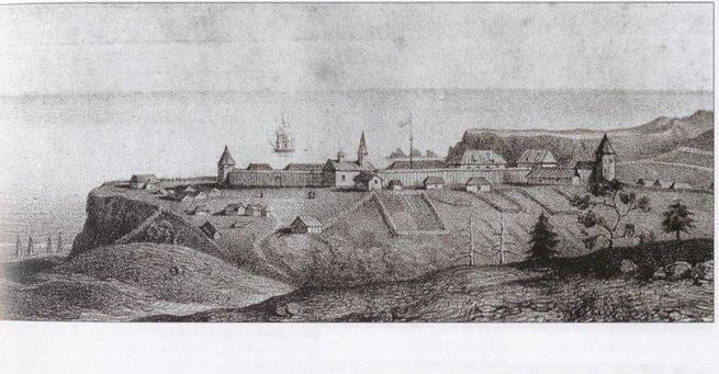 Форт Росс - утерянная русска…