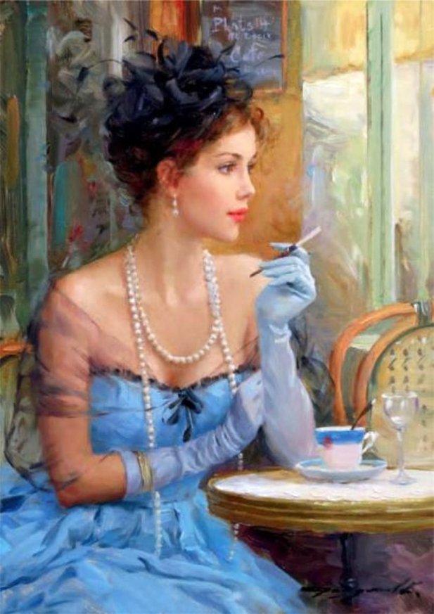 незнакомка женщина это мечта поэта или реальная