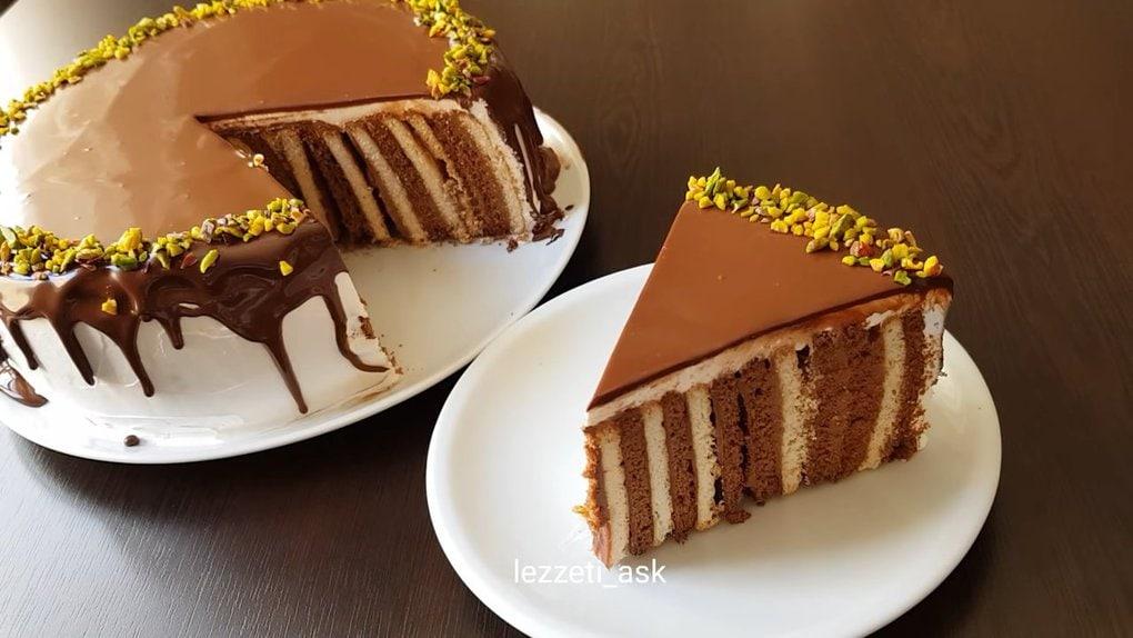 Необычный торт без выпечки, который легко повторить