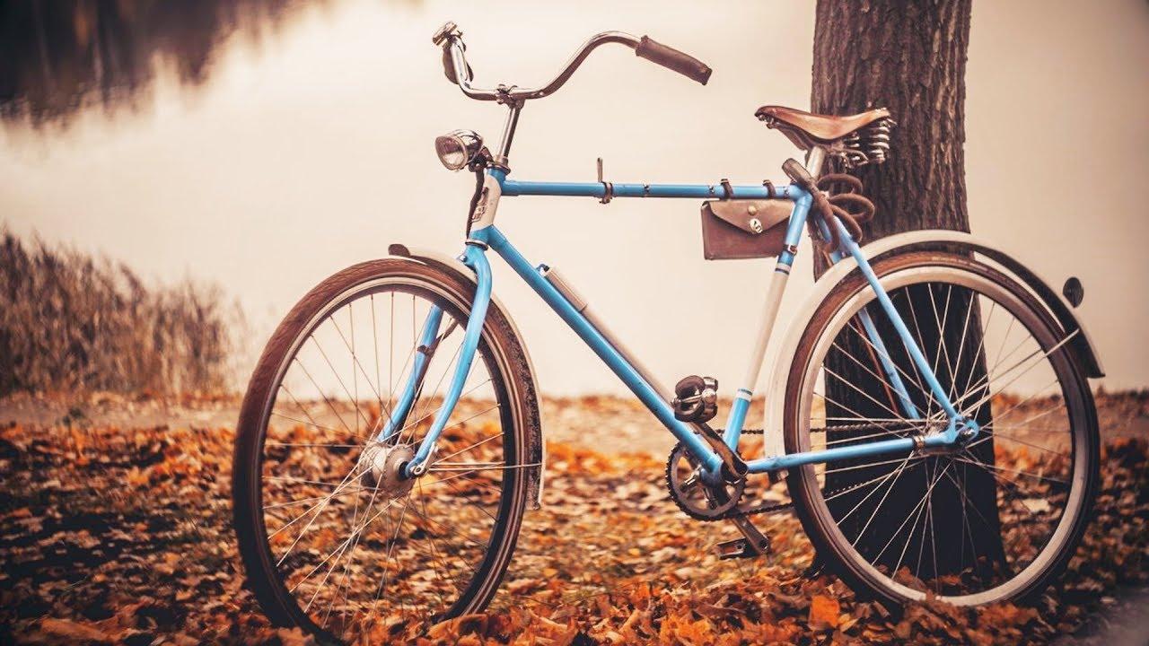 В детстве мы бредили велосипедами: «Школьник», «Орленок», «Урал»...