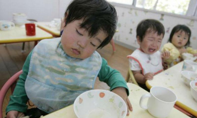 Еда в системе японского образования