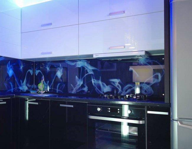 Дизайн угловой кухни с балконом 10 кв.м