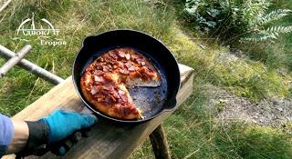Земляная печь и походная пицца